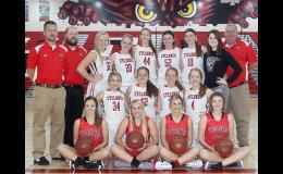 Harlan Community Varsity Girls Basketball Team