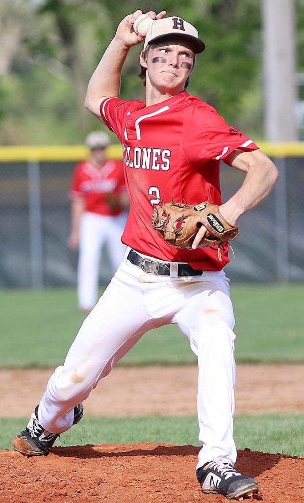 Connor Bruck, HCHS, jr. - Third Team All-State Pitcher