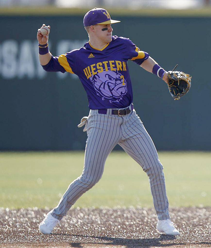 Dillon Sears was a junior infielder for Western Illinois this spring, starting eight of the team's 13 games. (Photo courtesy of Andrew Ferguson - University of Tennessee Athletics)