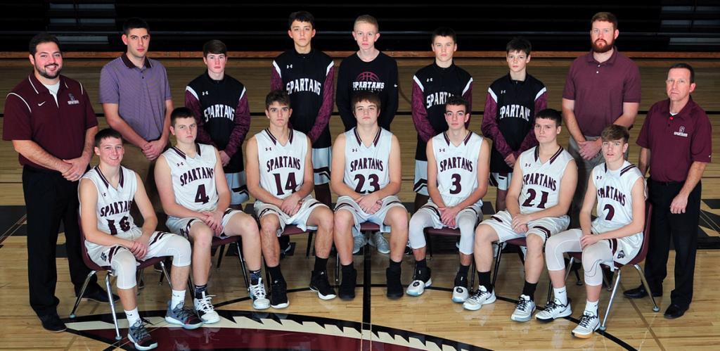 Exira-Elk Horn-Kimballton Boys Basketball Team (Photo courtesy of Beth Hansen)