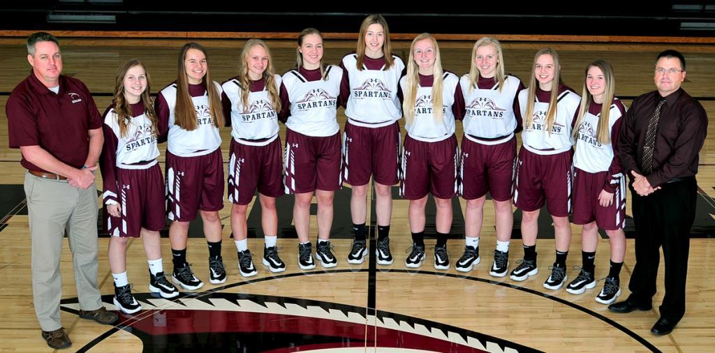 Exira-Elk Horn-Kimballton Girls Basketball Team<br />(Photo courtesy of Beth Hansen)