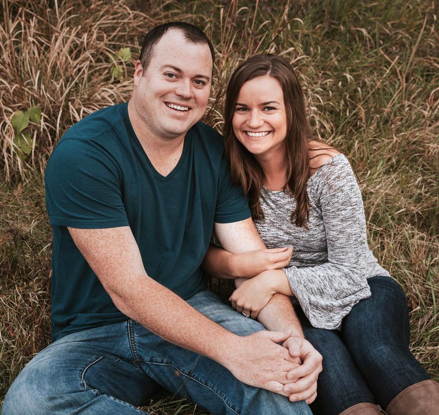 Dustin Halstead and Rachel Gross