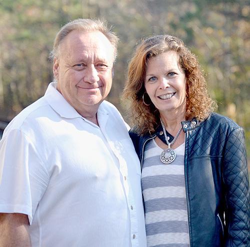 Jamie and Kristi Hockett