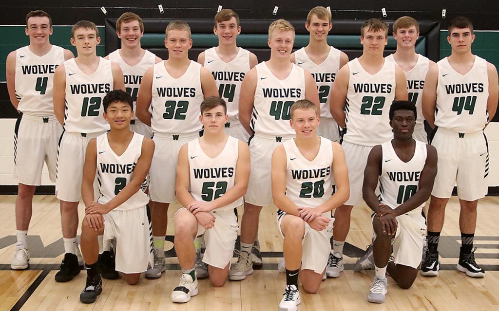 IKM-Manning Boys Basketball Team (Varsity)<br />(Photo by Mike Oeffner)