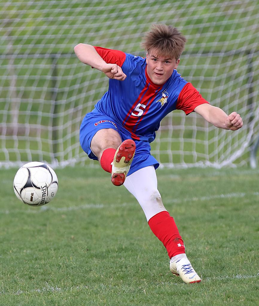 AHSTW senior Seth Kiesel earned Class 1A first team All-State recognition last year and was also named the Vikings' defensive player of the year.