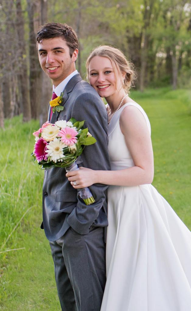 Colton and Tara Clack