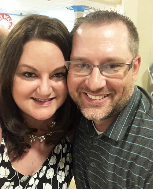 Ashley Johnson and Kristofer Lansman