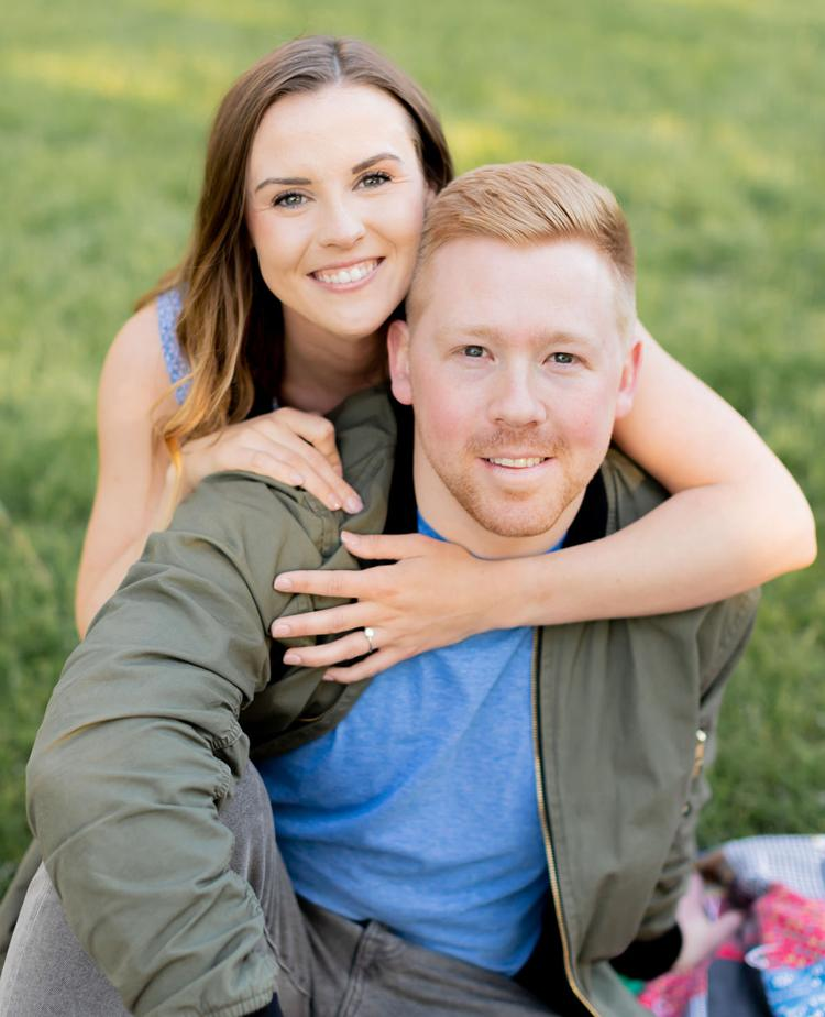 Claire Rowden and Rob Larson