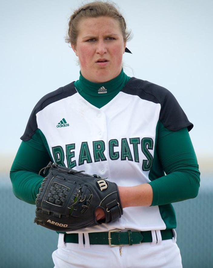 Senior Rachel Smith pitched parts of five seasons for the Northwest Missouri State softball team, highlighted by a 2018 campaign in which she was 11-8 with a 2.37 earned run average. (Photo courtesy of Northwest Missouri State University)