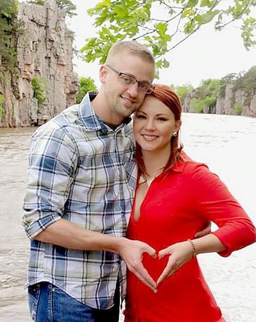 Ryan Rasmussen and Sara Schwarte