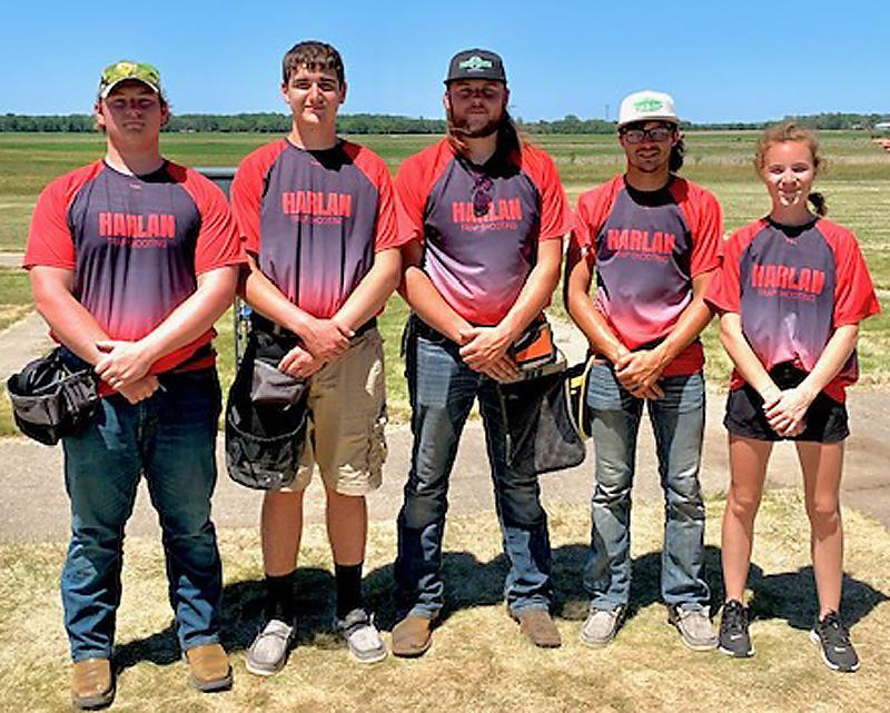 High School Squad 1, left-right: Hugh Griffith, Josh Kenkel, Chase Dimmitt, Ben Muenchrath, Avery Carter.