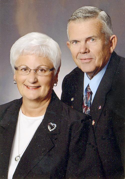 Carol and Dennis Woodin