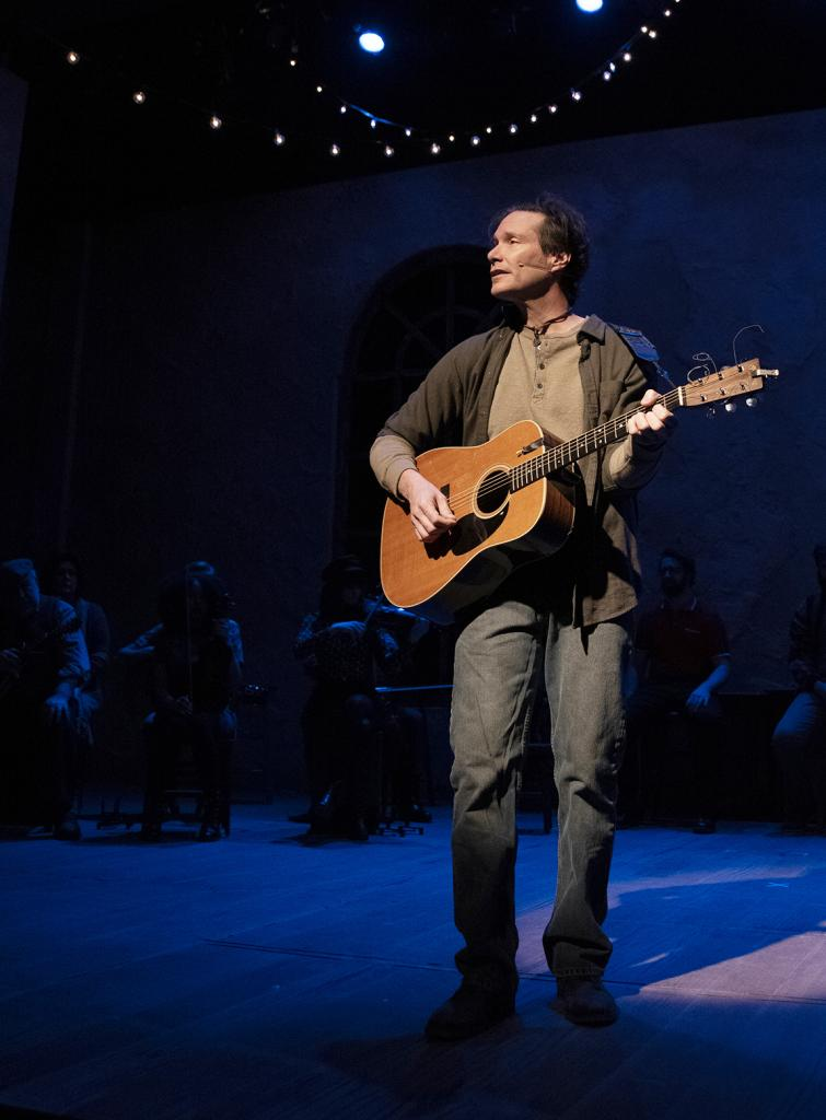 Harlan native Jay Hanson has the lead role in the production of Once at the Omaha Community Playhouse.