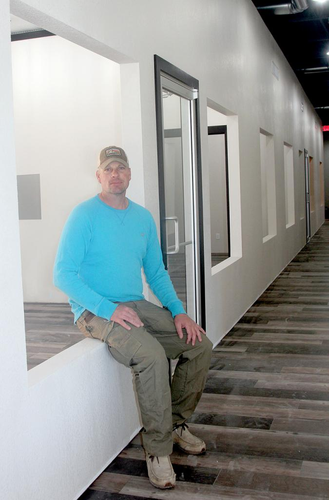 Tony Carter and his crew have completely renovated the former Wild Willie's building in downtown Harlan. The building will now house RC Corner Plaza named in honor of Carter's father, the late Ron Carter.