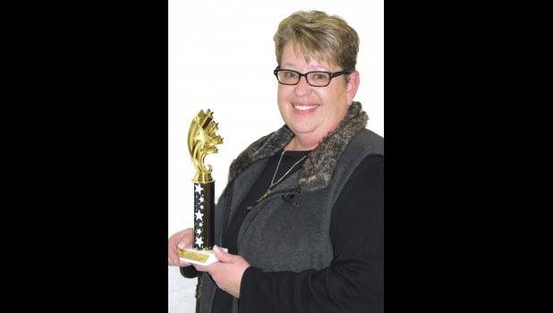 Lori Christensen of Harlan was named Shelby County Citizen of the Year.