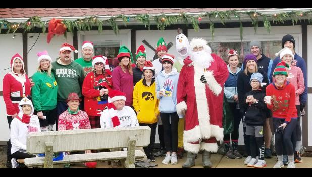 Polar Run participants
