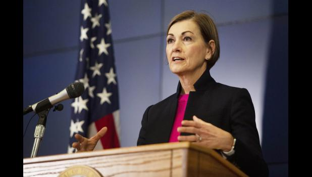 Iowa Gov. Kim Reynolds has been giving regular press briefings on COVID-19 matters as they relate to Iowans.