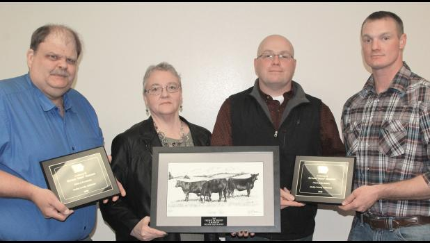 "Friend of the Industry awards went to the late Richard Maassen, known as ""Mase,"" who devoted his life to the cattle industry and to the Shelby Vet Clinic."