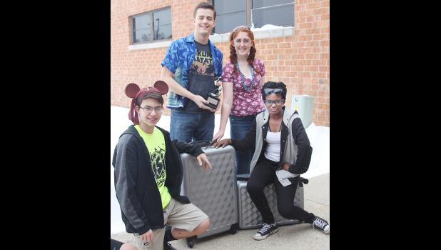 HCHS Music Students have their bags packed and are ready to take flight for sunny Orlando, FL and Disney World.