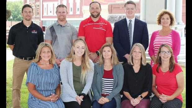 L to R -- Julie Livingston, elementary special education; Jessica Farrell, second grade; Eliesa Preston, high school special education; Charissa Henry, high school special education; and Marie Peters, high school special education.