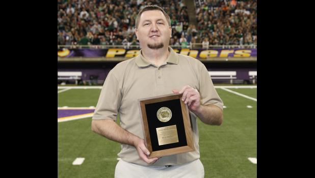Sports Editor Oeffner honored