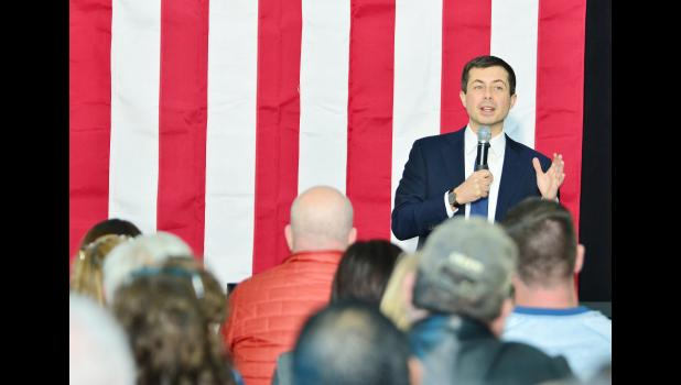 Town hall meeting with Democratic Presidential Candidate Pete Buttigieg.