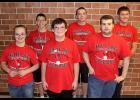 Special Olympics state bowlers from Harlan Community High School included, left-right: Chloe Hays, Mike Kenkel, Billy Joe Harvey, Cam Hicks, Tom Mercier and Lake Goetz.