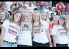 L to R -- Vanessa Gunderson, Lexi Larsen, Lexie Holloway and Ashley Hall.