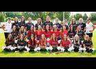 2021 Harlan Community Softball Team (JV-Varsity) -- Photo courtesy of Leah Marie Photography