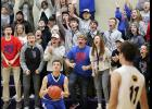 AHSTW fans celebrate after Sam Porter clinched the victory with a steal of the Panthers' inbounds pass with a second to go. (Photo by Mike Oeffner)